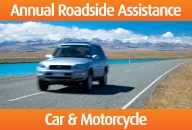 Annual Roadside Assistance Car & Motorcycle